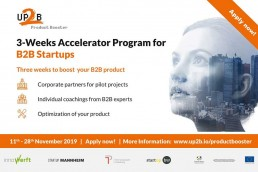 up2b-product-booster-2019-accelerator-program-b2b-startups-innowerft-technologiepark-heidelberg-next-mannheim